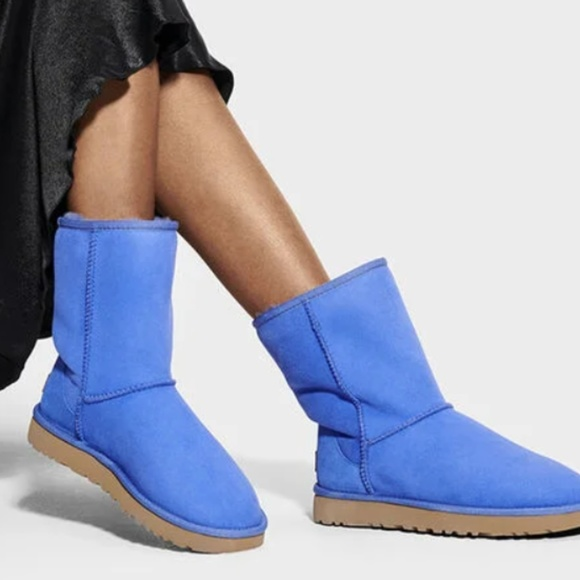 UGG Shoes - UGG WOMEN'S CLASSIC SHORT II BOOTS DEEP PERIWINKLE